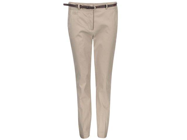 Béžové kalhoty Vero Moda Roos