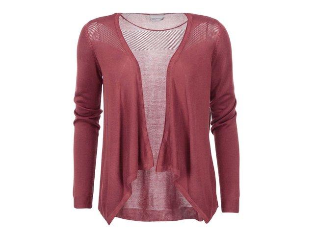 Červený cardigan Vero Moda Flavia
