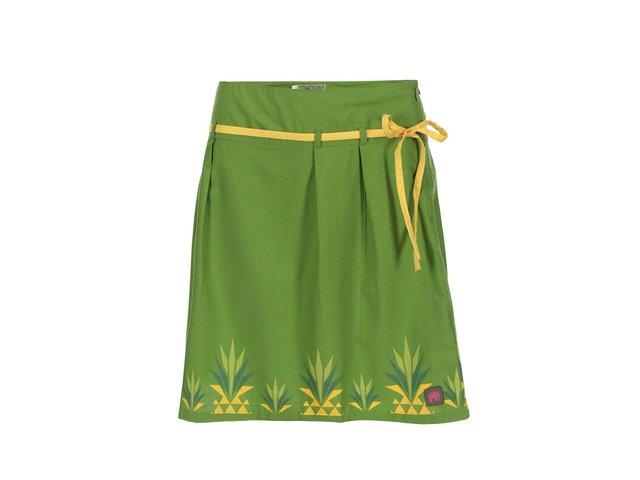 Zelená sukně s ananasy Tranquillo Lora
