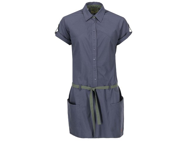 Šedé košilové šaty Tranquillo Verona