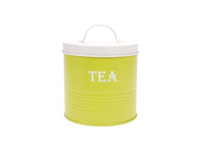 Zelená dóza na čaj Helio Ferretti