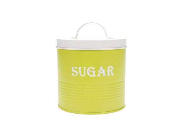 Zelená dóza na cukr Helio Ferretti