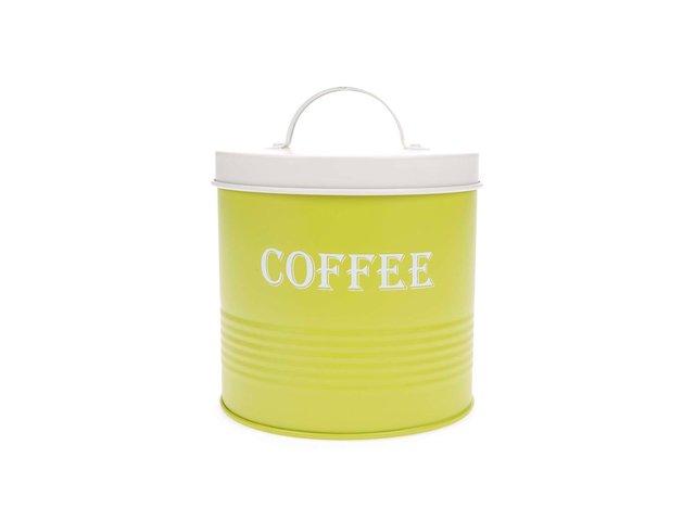 Zelená dóza na kávu Helio Ferretti