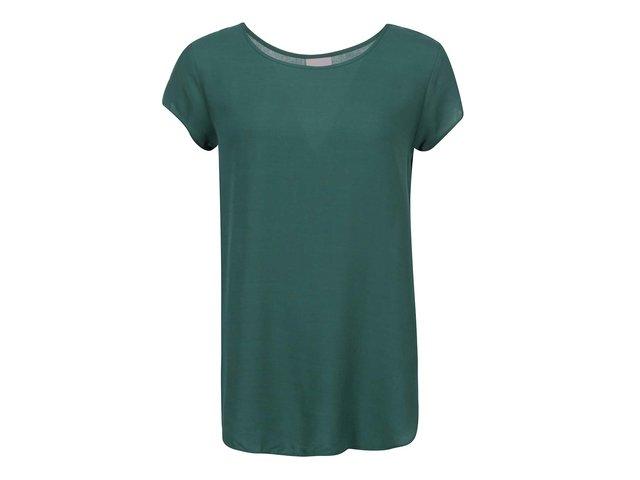 Zelený volnější top Vero Moda Boca