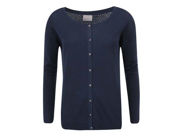 Tmavě modrý cardigan Vero Moda Care