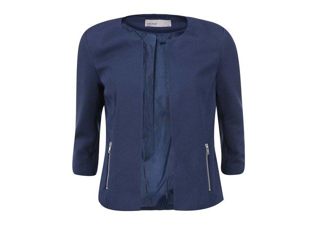 Tmavě modrý blejzr Vero Moda Janni