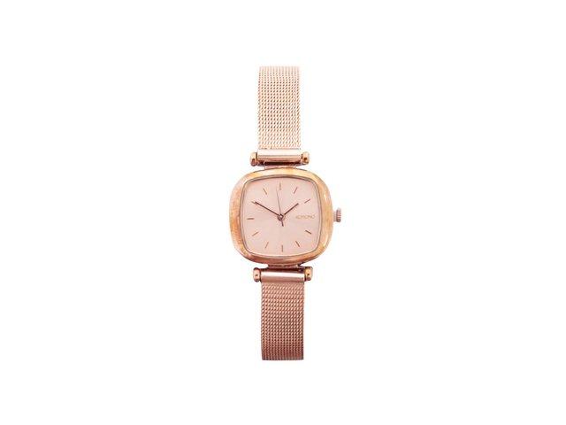 Dámské hodinky v barvě růžového zlata Komono Moneypenny Royale