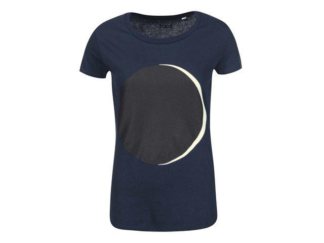 Modré dámské tričko s fosforeskujícím potiskem ZOOT Originál Moonlight