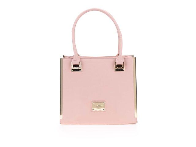 Růžová menší kabelka LYDC