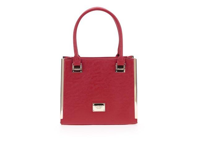 Červená menší kabelka LYDC