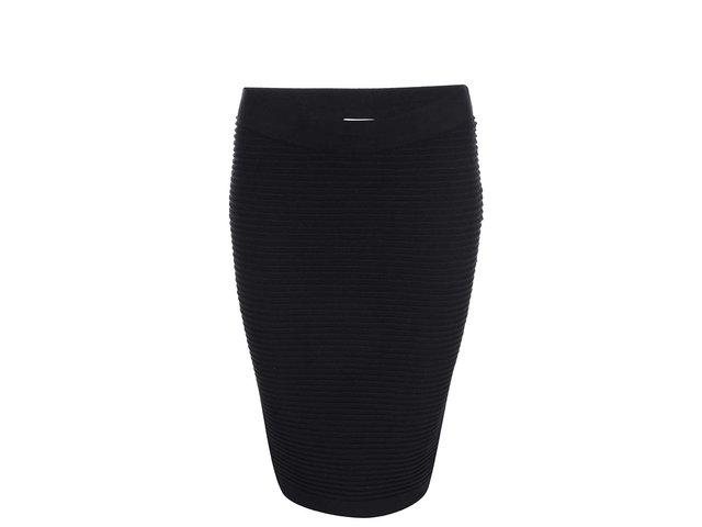 Černá úzká sukně Noisy May Focus