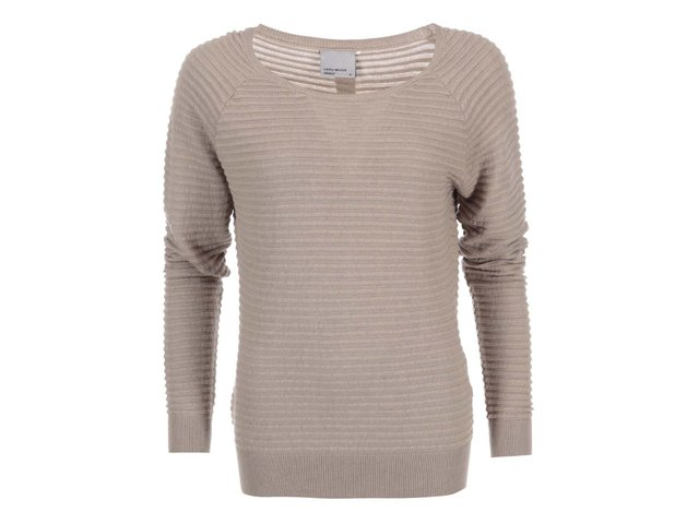 Béžový svetr s knoflíčky na zádech Vero Moda Forever
