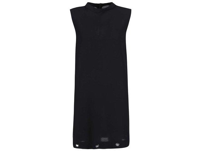 Černé šaty bez rukávů Vero Moda Cara