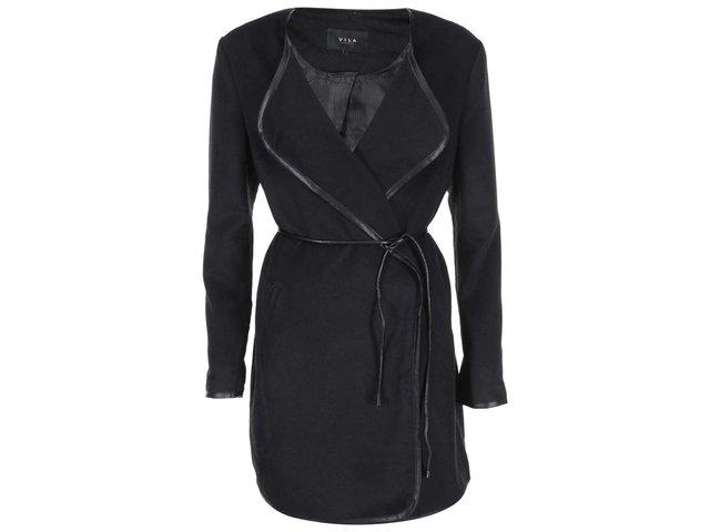 Černý lehký kabát VILA Chic