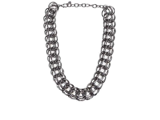 Masivní náhrdelník v metalové barvě Vero Moda Isa