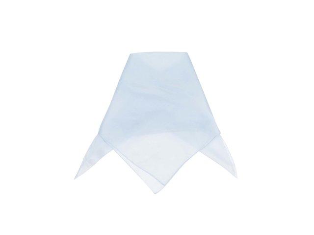 Modrý hedvábný šátek Pieces Elli