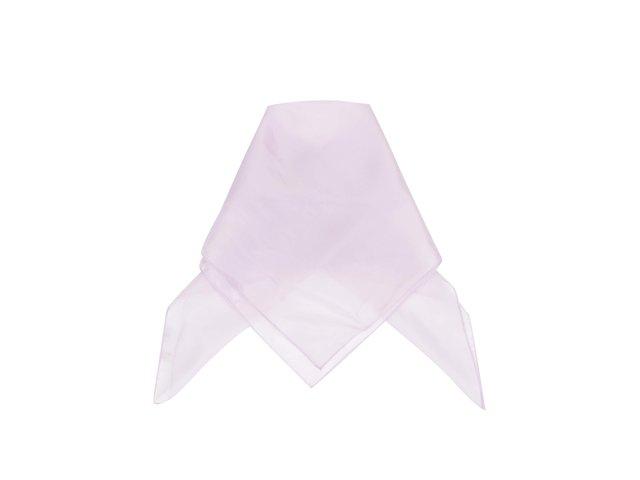 Světle fialový hedvábný šátek Pieces Elli
