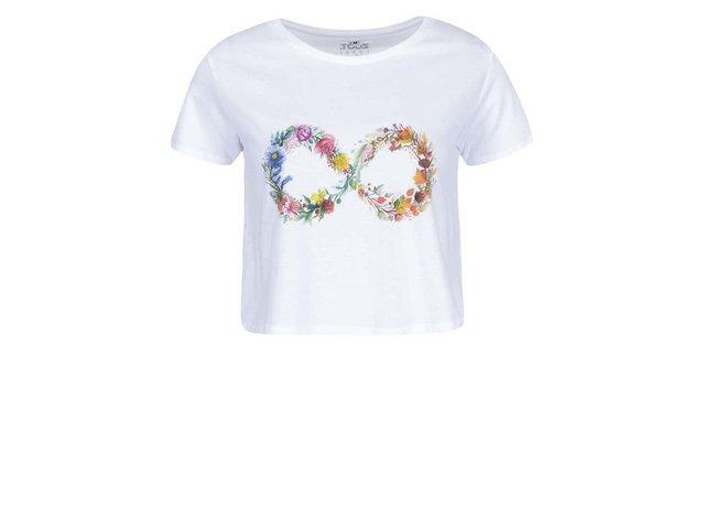 Bílé dámské tričko ZOOT Lokál Nekonečno