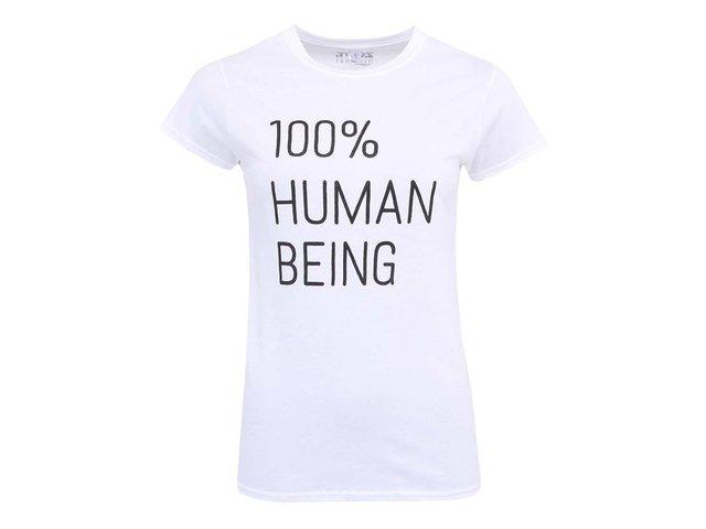 Bílé dámské tričko ZOOT Originál 100% Human Being