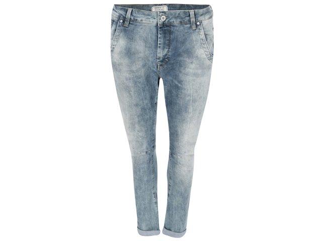 Modré dámské tříčtvrteční džíny Pepe Jeans Topsy