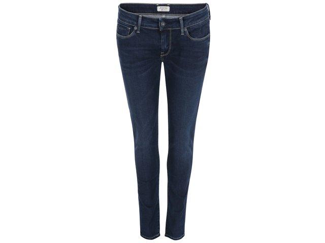 Tmavě modré dámské džíny s nízkým pasem Pepe Jeans Soho