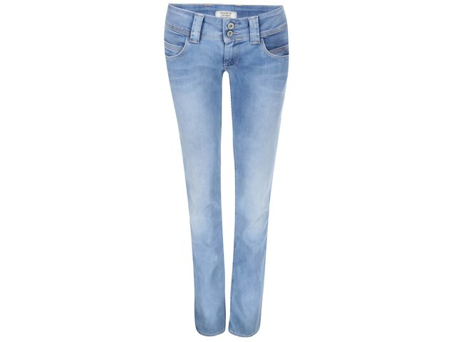 Modré dámské džíny Pepe Jeans Venus