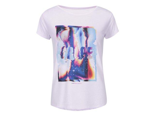 Fialové dámské triko Grape Liquid Love