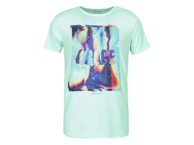 Mentolové pánské triko Grape Liquid Love