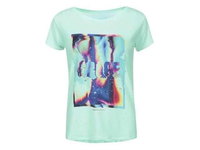 Mentolové dámské triko Grape Liquid Love