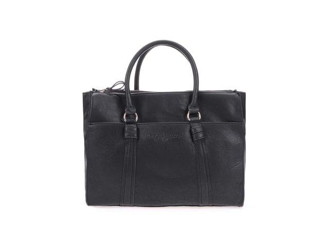 Černá dámská kabelka přes rameno Pepe Jeans May