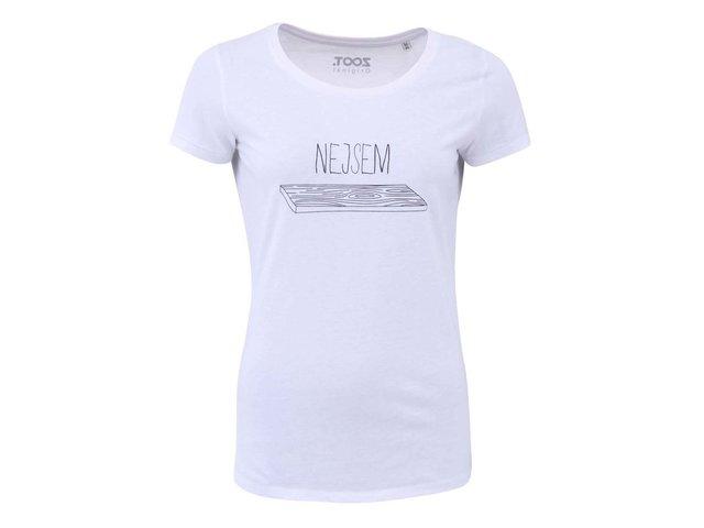 Bílé dámské tričko ZOOT Originál Nejsem prkno