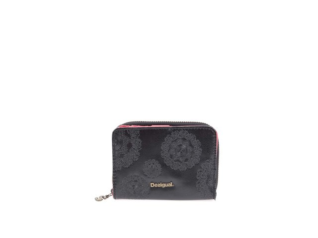 Černá peněženka s ornamenty Desigual