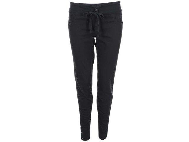 Černé džínové kalhoty DEHA