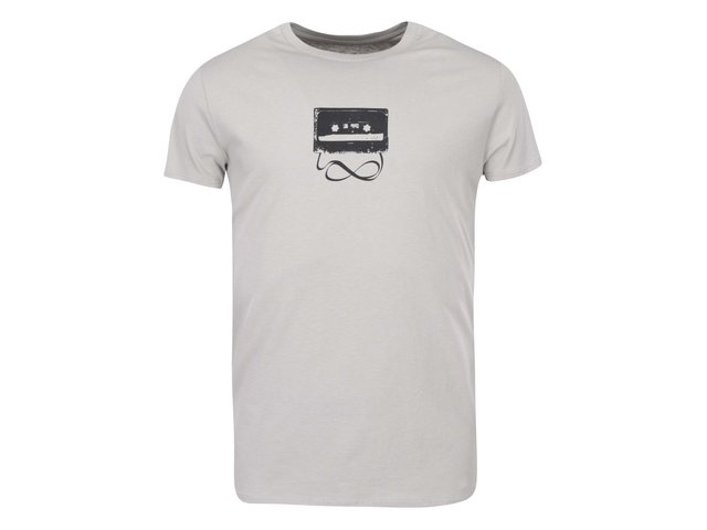 Šedé pánské triko ZOOT Originál Kazeta