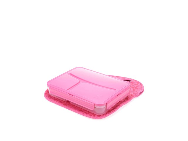 Růžový box na oběd Prêt à Paquet