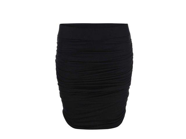 Černá nařasená sukně ONLY Gusta