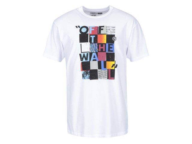 Bílé pánské triko s potiskem Vans Blaster