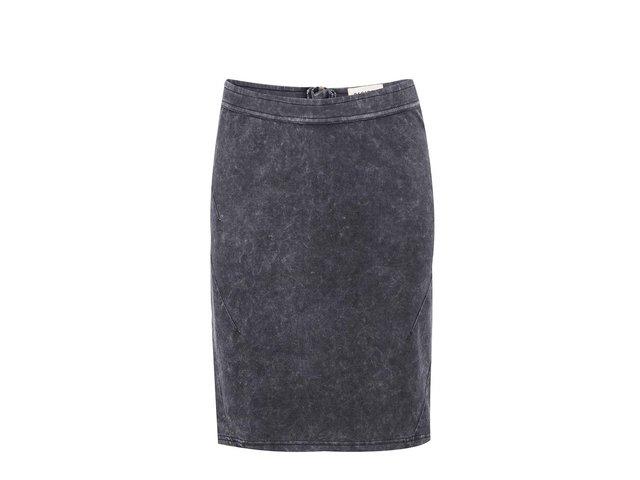 Tmavě šedá denimová sukně Desires Gladiate