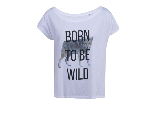Bílé dámské tričko ZOOT Originál Born To Be Wild