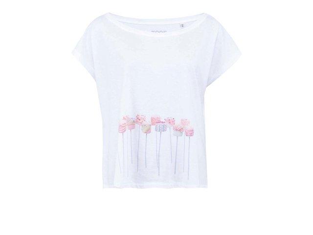 Bílé dámské tričko ZOOT Originál Marshmallow