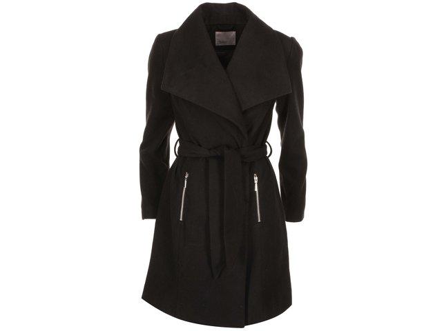 Černý kabát Vero Moda Kate