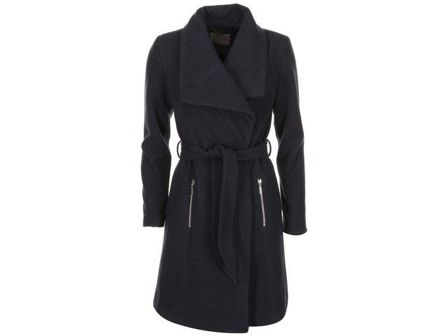 Tmavě modrý kabát Vero Moda Kate