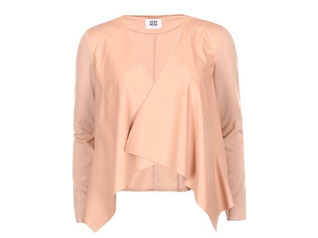 Světle růžový blejzr Vero Moda Dalian
