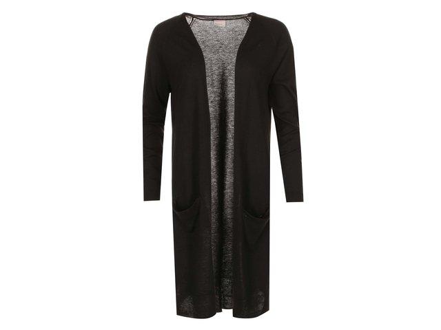 Černý dlouhý cardigan Vero Moda Kate