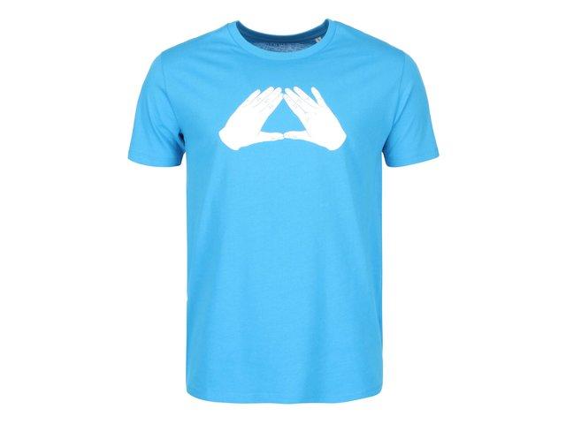 Modré pánské triko ZOOT Originál Trojúhelník
