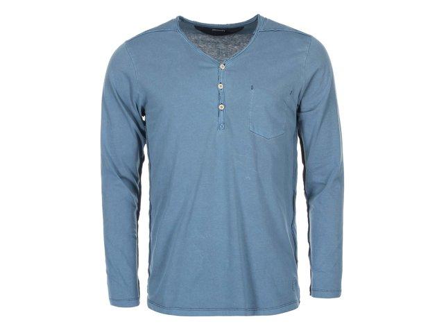 Modré triko s dlouhými rukávy Jack & Jones Booth