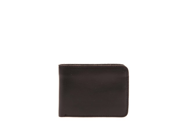 Černá kožená peněženka Jack & Jones