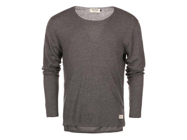 Tmavě šedý svetr Jack & Jones Clean
