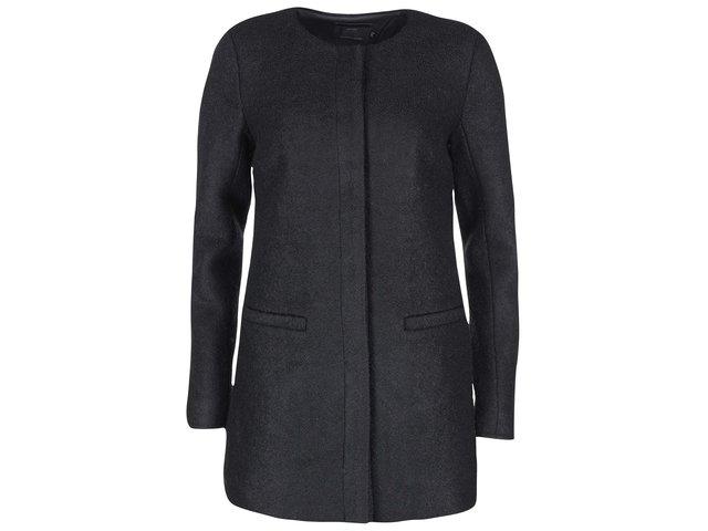 Černý kabát ONLY New Pier