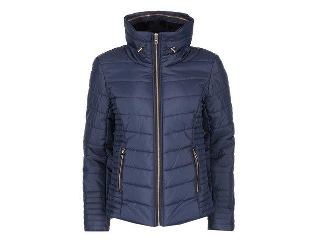Tmavě modrá prošívaná bunda ONLY Balance